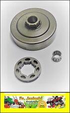 Pista rueda dentada con almacén Poulan: micro 20, micro 25, s25, 1800, 2000, 2300, alko