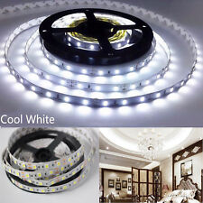 LED Strip Light 5050 SMD 5M Cool White 300 Leds Flexible Non-Waterproof DC 12V