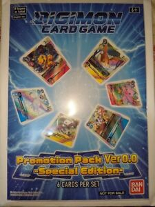 Digimon Card Game TCG Promo Pack Ver 0.0 -Special Edition- (EN) [P-001 ~ 006]
