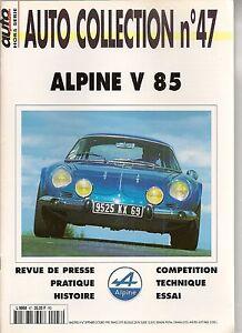 AUTO COLLECTION 47 RENAULT ALPINE A110 V85 BERLINETTE ALPINE A110 V 85