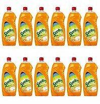 Set Formato Scorta 12 X SVELTO Piatti 1Litro Aceto e Limone Detergenti Casa