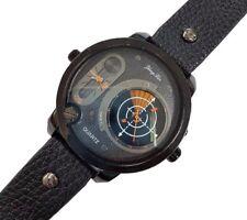Orologio Da Polso Uomo Analogico Quarzo Data Elegante Moda Radar Black lac