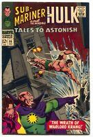 Tales To Astonish 86 Marvel 1966 VF Hulk Sub-Mariner Stan Lee Bill Everett