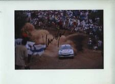 Marcus Gronholm Peugeot 206 WRC Acropolis Rally 2000 Signed Photograph