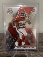 2020 PANINI MOSAIC FOOTBALL CLYDE EDWARDS-HELAIRE RC BASE #212 CHIEFS