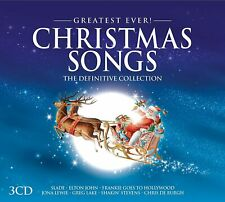 GREATEST EVER CHRISTMAS SONGS The Definitive Collection (2016) 3-CD NEW/SEALED