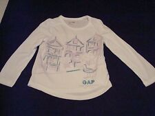 Girl Gap San Francisco Lon Sleeve, Graphic T-Shirt Size 2T NWT