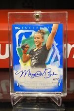2020 Topps UFC Knockout Maycee Barber Inception Auto Autograph Blue #4/25 🔵