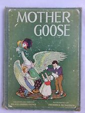 Antique Mother Goose Nursery Rhymes The Volland Edition 1915