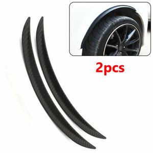 PVC Rubber Car Wheel Eyebrow Arch Trim Lips Fender Flares Protector Trims