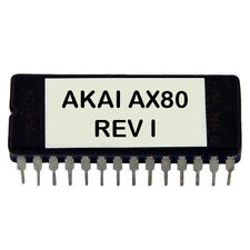 Akai AX-80 Rev I firmware OS update EPROM Latest O.S