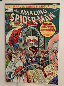 Marvel AMAZING SPIDER-MAN #131 (1974) Doctor Octopus & Hammerhead App HIGH GRADE