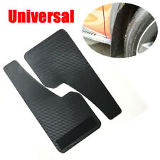 2X Universal Racing Car Mudflap Wheel Moulding Fender Mudguard Carbon Fiber Look