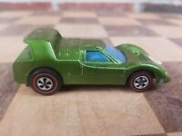 Sizzlers Green Red Line Vehicle Mattel 1969  #8