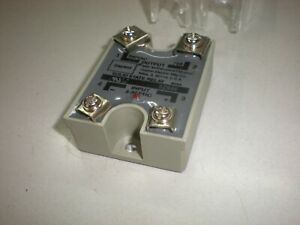 Dayton 5Z946 Solid State Relay - 10A - with Plastic Protective Cover - NNB
