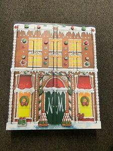 TRADITIONS Byers' Choice Ltd German Wooden Advent Calendar Original Box