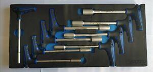 BOXO 9pc Socket T-Handle Set