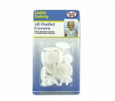 18 Ct Electrical Outlet Plug Safety Covers - Baby Safety - Free Ship - Saturday