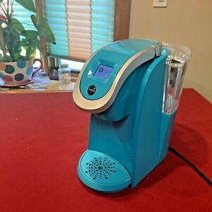 Keurig 2.0 Model K2.0-200 PLUS K Cup  Touch Screen Coffee Maker Turquoise ❤️☕️🔥