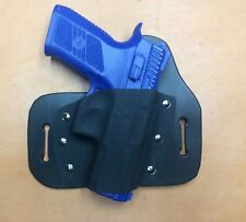 Leather Kydex Hybrid OWB holster for CZ P07 Duty