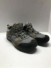 Women Timberland Brown Suede With Blue Walking Hiking Trail Shoes Size 8