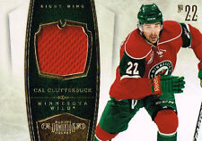 10-11 Dominion Game Used JERSEY xx/99 Made! Cal CLUTTERBUCK #48