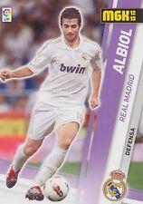 N°186 ALBIOL # REAL MADRID OFFICIAL TRADING CARD PANINI LIGA 2013