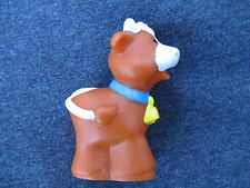 Fisher Price Little People BROWN FARM COW BELL FARM ZOO Noah's ARK BARN Nativity