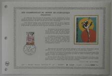 Document Artistique DAP 358 1er jour 1978 Championnats du Monde de Gymnastique