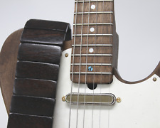 Black Wood Revo Guitar Strap | Custom | Premium | Acoustic | Electric Bass