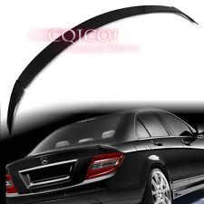 Carbon Fiber M-BENZ 08~14 W204 C class Sedan B type (3 pcs) trunk spoiler @US