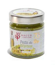 Pesto la Brontese avec Pistache au 70% - Produit de Bronte - Vase de 190 Gr