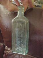 F7 Vintage Dr Kilmer's Swamp Root Kidney Liver  Bladder Remedy medicine bottle