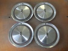 """Oldsmobile 98 Hubcap Rim Wheel Cover Hub Cap 1974 74 1975 75 76 15"""" OEM 4041 SET"""