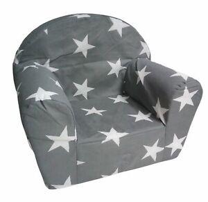 Kindersessel hellgrau Spielsessel Kindermöbel Sessel Kindersofa Kindercouch