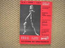 CINEMA 66 BLOW UP ANTONIONI VEROUCHKA RIVISTA FRANCIA 1966