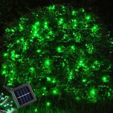 60 LED Waterproof Solar Fairy String Light Gardn Lawn Decoration Lamp Green