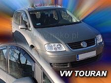 HEKO Windabweiser für VW TOURAN 5-türig 2003-2015 VORNE Regenabweiser 2tlg 31142