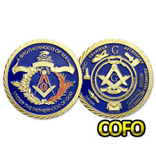 Freemasons Accessories Masonic Challenge Coin Mason Gifts For Blue Lodge