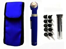 Blue Mini Fiber Optic-Medical Otoscope Diagnostic Examination-CE Approved