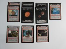 Lot of 10 Star Wars CCG LS Cards BB LTD Jabba's Palace 1998 Decipher SP/MP (JP2)