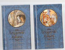 leggende italiane - due volumi - febr vseet