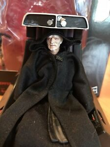 Star Wars The Black Series 6'' Emperor Palpatine With Throne action Figure