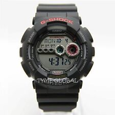 Casio G-Shock GD-100-1A Super Illuminator Black Resin Digital WR200M Sport Watch
