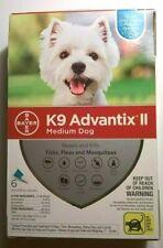 K9 Advantix II Flea Medicine Medium Dog 6 Month Supply Pack K-9 11-20 lbs