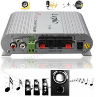 12V 200W Auto Mini Hi-Fi Amplificatore Radio 2.1 Canali Stereo MP3 Subwoofer