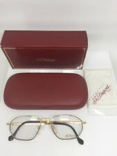 ST DUPONT D059 Eyeglasses Frames 23 Karat Gold Plated V 6050 Made In Austria