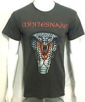 WHITESNAKE - Logo - Official T-Shirt (S) OG 2011 New Genuine Monsters Of Rock