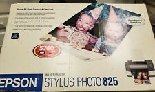 Epson Stylus Photo 825 ink jet Printer NEW OPEN BOX