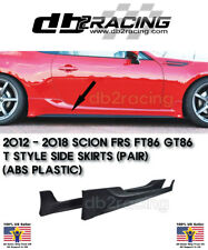 T Style Side Skirts (ABS) Fits 12-18 BRZ FR-S Toyota 86 GT86 FA20